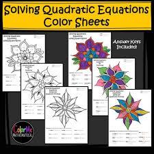 19 worksheet on quadratic equations doc