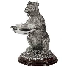 <b>Икорница</b> «<b>Медведь</b>» оптом под логотип