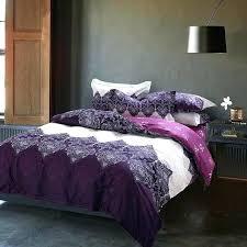 purple and yellow comforter