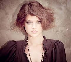 stylish updo hairstyle for short hair