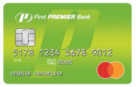 first premier bank secured credit card