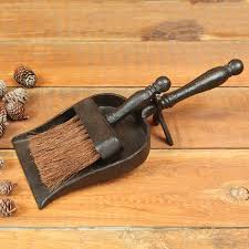 imposing design fireplace broom dust pan with by homart