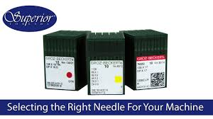 Selecting The Right Needle For Your Industrial Commercial Sewing Machine