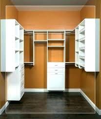 narrow closet ideas skinny