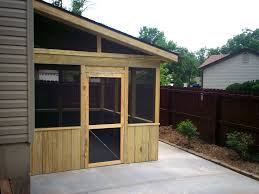 Simple Shed Roof Screened Porch Plans - Karenefoley Porch and ...