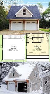 Garage Apartment Designs Plan 29887rl Snazzy Looking Carriage House Plan Carriage