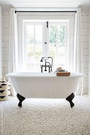 Clawfoot Tub Bathroom Ideas Enchanting Stock Photo Rustic Modern Farmhouse Bathroom In Small Cottage In