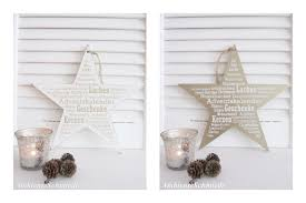 Holz Stern Weihnachtsrezept Schild Z Hängen Spruch Weiß Gold Deko Weihnachten Shabby Vintage