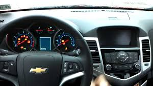 Brand new 2014 Chevrolet Cruze LT start up from inside. - YouTube