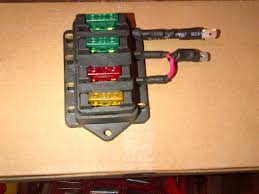 updated atc style fuse panel owners pelican parts technical bbs bought this small 4 fuse mini panel on for 8 00 as you see it fits nicely on relay panel drill and use small sheet metal screw and if you mount