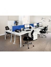 office desk cable management. Cable Management Spine - Dams 760mm ROSP Enlarged View Office Desk A