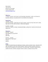 Housekeeping Resume Domestic Housekeeper Cv Sample Myperfectcv Resume Housekeeping 100