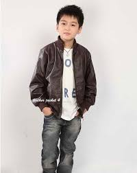 boy kids leather jacket roll over to zoom in to enlarge