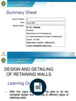 Small Picture RETAINING WALLpdf Mathematical Optimization Civil Engineering