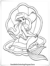 Small Picture Barbie Mermaid Coloring Pages 21419