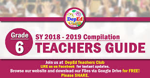 The answer key is an essential part of the general specification of slms and lass and therefore be attached to the said learning resources. 1st Quarter Grade 6 Teachers Guide Tg Deped Club
