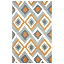 mid century area rugs mid century modern area rugs orange hand hooked area rug mid mid