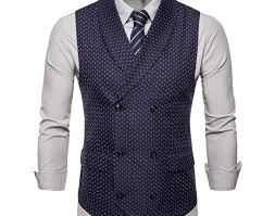 Mustard Slim-Fit Cotton Suit Vest in 2020   Mens fashion