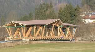 Timber Cantilever Bridge Design Timber Truss Bridge Building A House Architecture