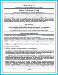 Cover Letter Obiee Business Analyst Resume It Samples Template For