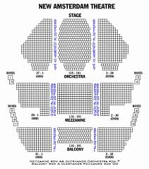Westside Theatre Seating Chart Seating Chart For Palace Theater Westside Theatre Seating