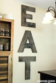 eat letters for kitchen wall large eat sign wood tall letters by wood eat sign eat letters for kitchen