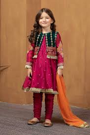 Baby Kameez Design 2017 Maria B Fancy Kids Dresses Designs For Girls 2019 20 Collection