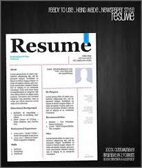 Top Result 60 Awesome Free Creative Resume Templates For Mac Picture