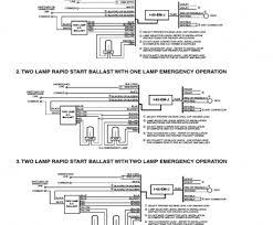 how to wire a emergency light ballast fantastic bodine ballast