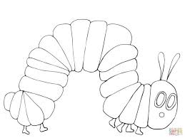 Adult Hungry Caterpillar Coloring Page Very Hungry Caterpillar