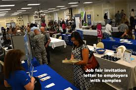 Job Fair Invitation Letter To Employers - Career Fair Samples