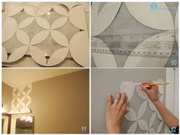 wall paint design stencils flower wall stencil ideas for