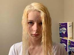 to bleach hair at home without damage
