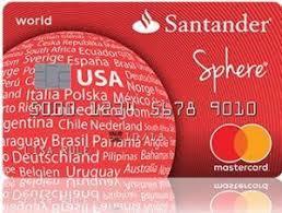 santander payoff sphere credit card apply santander credit card payment