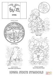 Small Picture Iowa State Symbols coloring page Free Printable Coloring Pages