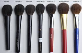 suqqu brushes. suqqu brushes i have extremely delicate skin using a blush brush is only possible if it s very c