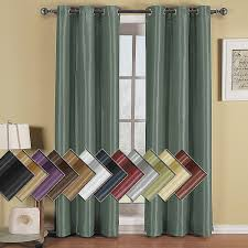white curtains 96 inches long beautiful soho thermal blackout grommet top curtain panels single