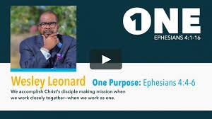 Wesley Leonard - ONE Purpose on Vimeo