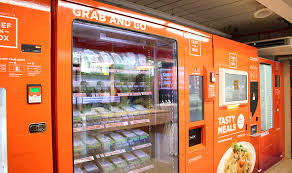 Vending Machine Food Extraordinary A Vending Machine Cafe Has Opened In Singapore But Is It As