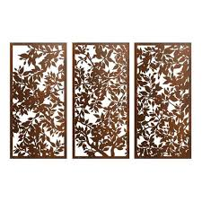 steel wall art screen triptych outdoor metal wall art  on wrought iron metal wall sculpture art with steel wall art wall sculpture art steel wall art mid modern school