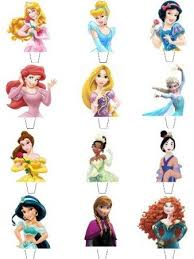 Buy 12 X Disney Princess Top Half Premium Quality Stand Up Standups