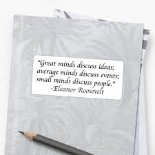 Eleanor Roosevelt People Quote Sticker