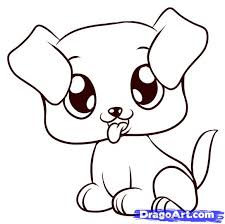 Small Picture How to Draw a Puppy Step by Step Pets Animals FREE Online
