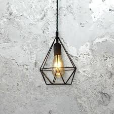 lighting country style pendant lights industrial cage wire lamp vintage light bulb cover covers oversized hanging pendant light cord