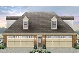 Garage Apartment Plans  4Car Garage Apartment Plan  006G0099 Four Car Garage House Plans