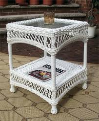 rattan end table resin wicker end table white rattan wicker table lamps rattan end table