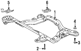 parts com® saturn front suspension suspension mounting engine 1994 saturn sc1 base l4 1 9 liter gas suspension mounting