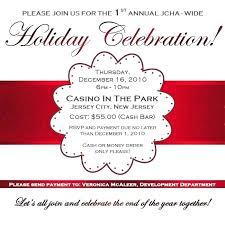 Company Christmas Party Invitation Message Tinajoathome