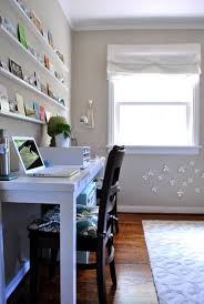 home office guest room. We Love This Room Because Although It\u0027s Only A 10 X 10.5\u2032 Box, It Easily Gets The Best Light In House. So Not Bad Spot To Spend 80+ Hours Home Office Guest