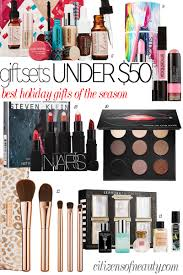 get the best holiday beauty gift sets for under 50 00 at sephora and nordstroms beauty